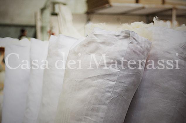 laboratorio artigianale cuscini lana